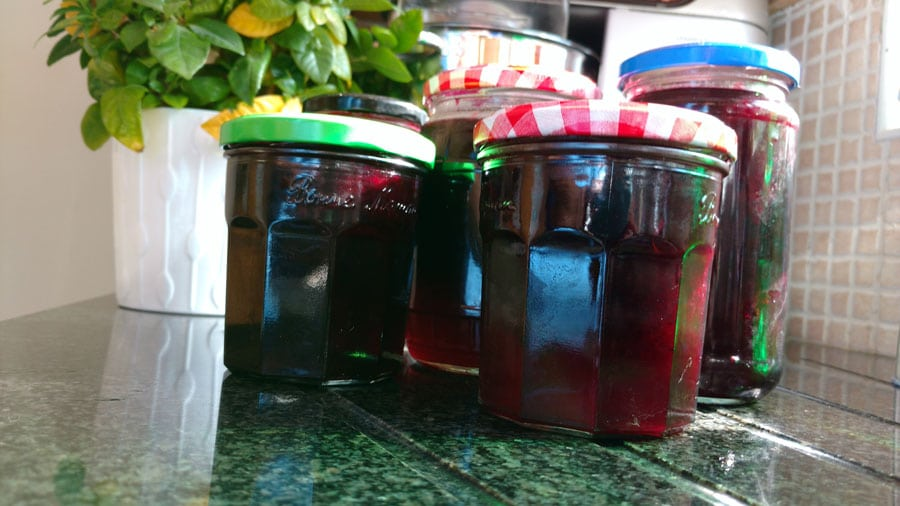 Blackcurrant to Blackcurrant Jam